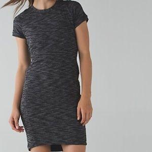 Lululemon &go Where-to dress Heathered Black